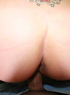 Секс с молодой блондинкой - фото #