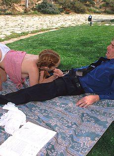 Секс на пикнике - фото #