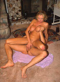 Динамичный секс понравился любвеобильным супругам - фото #