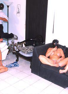 Оргия в масках от свингеров - фото #