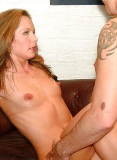 Секс в разных позах с опытным мачо - фото #