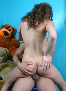 Домашний секс с минетом от похотливой парочки - фото #