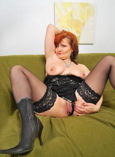 Анальный секс со зрелой женщиной - фото #
