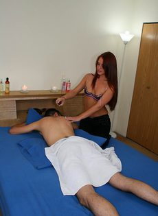 Секс в массажном салоне - фото #