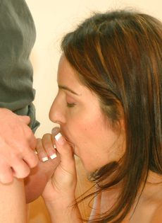 Приятная встреча началась с секса - фото #