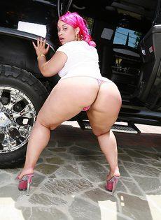 Толстый член для жирной девушки - фото #