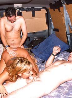 Секс экспресс для любителей групповушки - фото #39