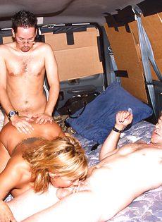 Секс экспресс для любителей групповушки - фото #60