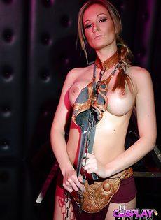 Девушка в сексуальном наряде - фото #