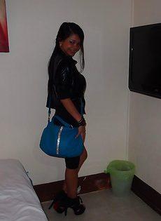 Частные секс фото с худенькой азиаткой на высоких каблуках - фото #