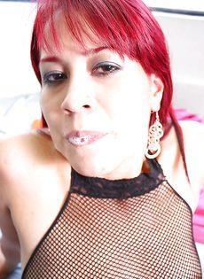 Качественный минетик от латинки Camila Mendoza - фото #