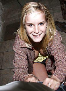 Грудастая Мэри Квин трахается с другом и получает сперму в рот - фото #