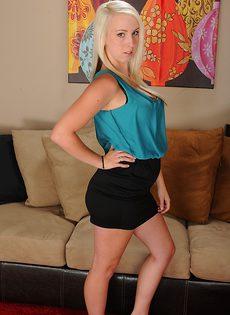 Блондинка Darcie Belle мечтает о бурном перепихоне - фото #