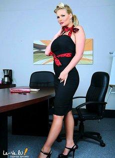 Вот так секретарша!