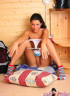 Фото ласковой девочки в домашних условиях