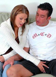 Красотке захотелось секса со своим новым знакомым