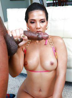 Анальный секс с привлекательной латиной Rose Monroe