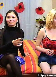 Русские девчонки отдыхают