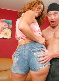 Чувак любит трахать телок с сексуальной попкой