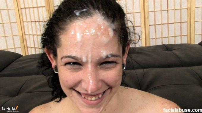 порно где лицо в сперме