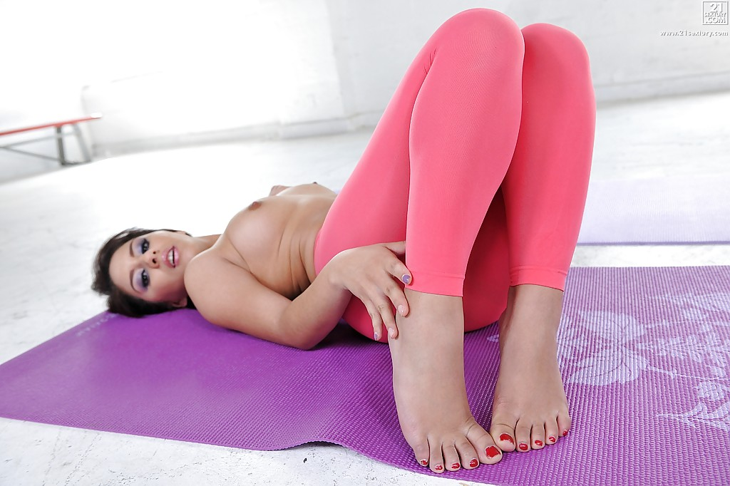 Cute soles and yoga pants