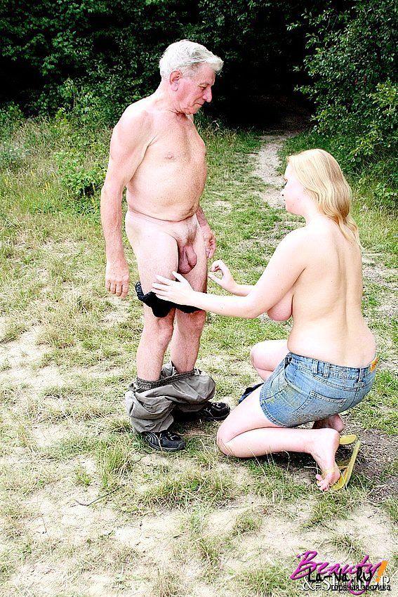 дед и девушка фото порно