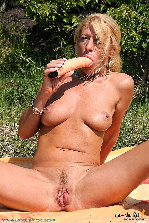 Устроила себе пик ник в лесу на опушке - фото #2
