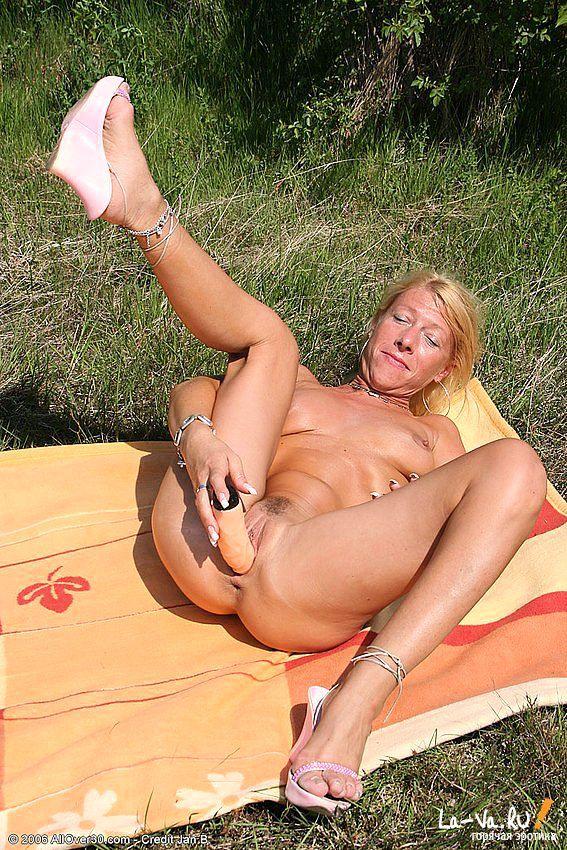 Устроила себе пик ник в лесу на опушке - фото #6