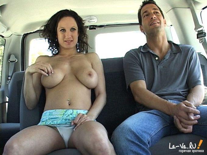 порно в автобусе присунул