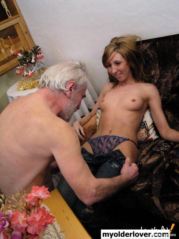 Порно старик занялся сексом со своей внучкой фото