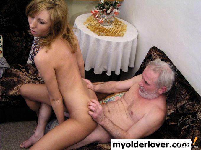 порно со стариками с усами