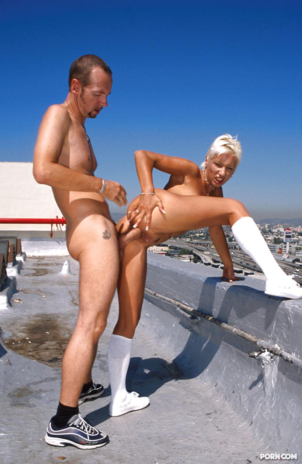 Секс на крыш 6 фотография