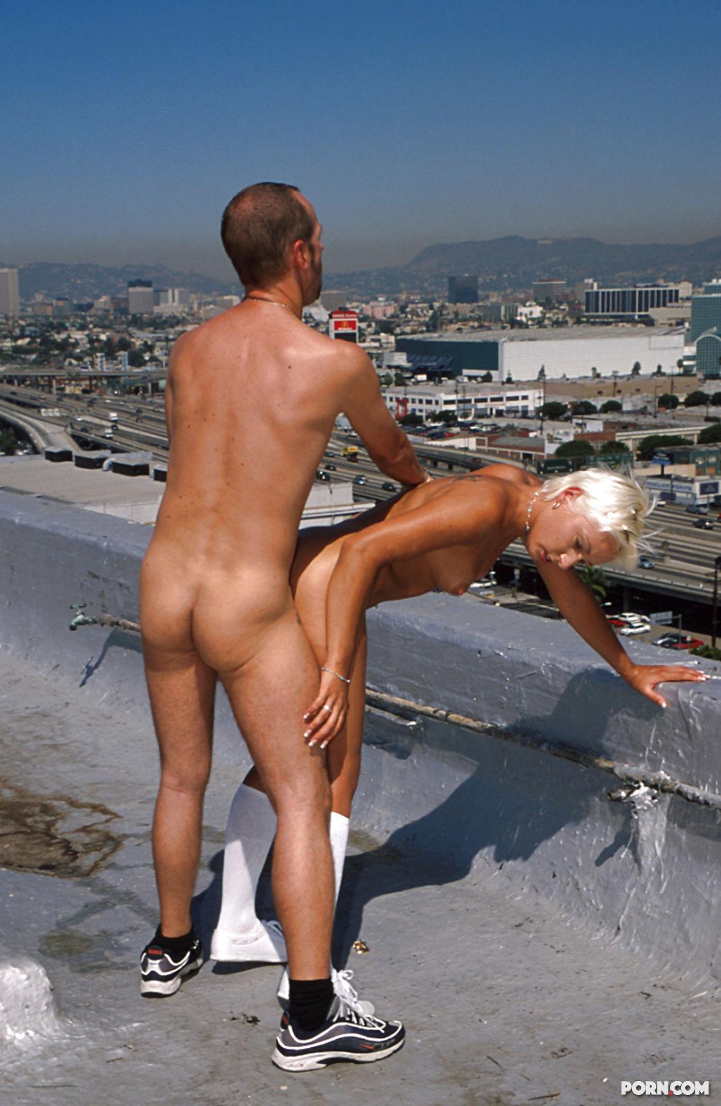 Секс крыше