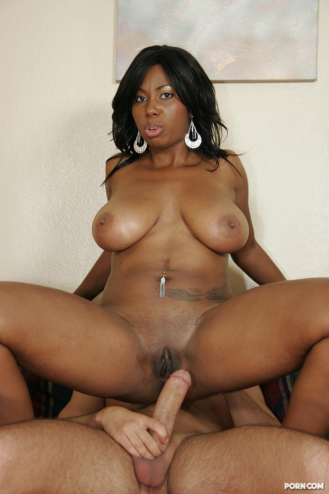 Секс с чернакожей женщиной