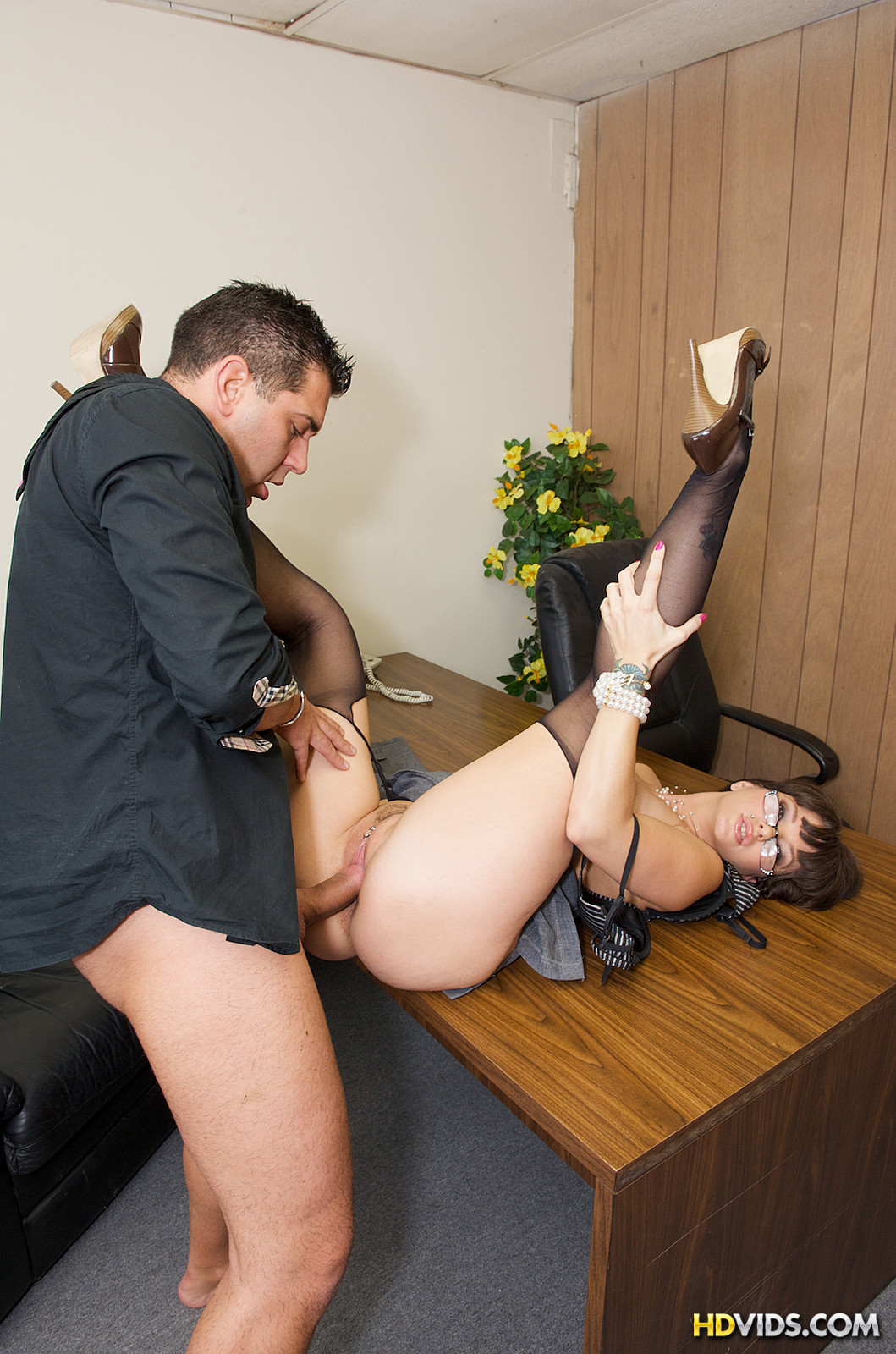 Fucking the office slut