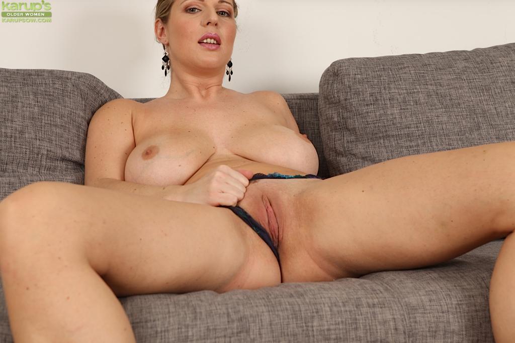 Naked Moms In Stockings